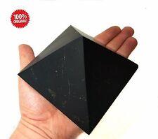 Shungite Schungit Unpolished Big Pyramid 110mm/ 4.33 inch Stone Protection Emf