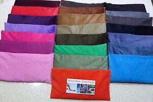 Wheat Bag. Heat Pack. 31 x 17 cm CORDUROY 1.1 kg  Choose COLOUR Choose SCENT