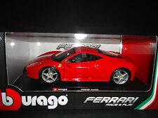 Bburago Ferrari 458 Red 1/24
