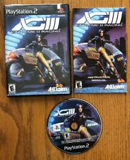 XGIII: Extreme G Racing (Sony PlayStation 2, 2001) Complete! Tested And Works!