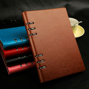 NEW Business Ring Stationery Office Notebook Diary Journal Sketchbook A6 A5 B5