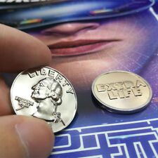 2018 Ready Player one Extra Life Coin Quarter Cosplay Prop Commemorative Coin