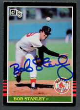 Bob Stanley #91 signed autograph auto 1985 Donruss Baseball Trading Card
