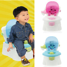 Hot 2 in 1 Baby Toilet Trainer Toddler Kid Potty Training Seat Fun Chair Pink