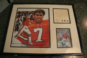 John Elway Quarterbacks Club Commemorative Plaque