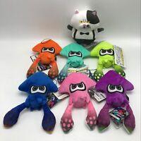 "Splatoon 2 Inkling Squid Judd Plush Soft Toy Teddy Stuffed Animal Doll 6"""