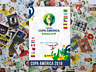 PANINI COPA AMERICA 2019 BRASIL STICKERS - 10 X $5.50 PICK ANY !!!!
