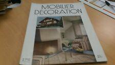 """Magazine  N°1 vintage """"Mobilier et decoration"""" arts jardins maisons 1955"""