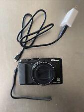 Nikon COOLPIX S9900 16.0MP Digital Camera - Black