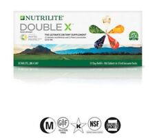 AMWAY ORIGINAL NUTRILITE DOUBLE X  - 31 day REFILL *New packaging* ~ EXP 2019