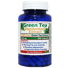 Green Tea Extract 100% Pure 200 Capsules