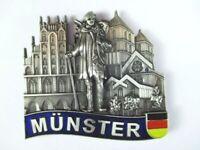 Münster Metall Magnet Germany Deutschland Souvenir,Neu