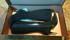 Gucci Ladies Black Suede High Heels Boots, 36C Excellent condition! Rrp £450