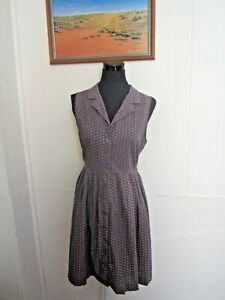 PRINCESS HIGHWAY 100% Cotton Shirt Dress Size 14