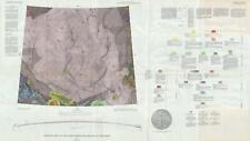 1966 USGS Geologic Map of the Moon: Mare Serenitatis Region