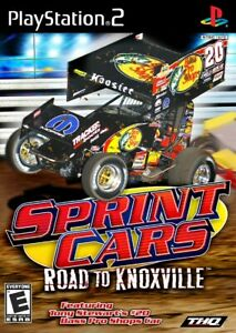 Sprint Cars: Road to Knoxville - Playstation 2 Game Complete
