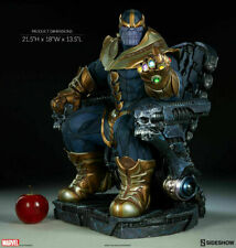 💥Sideshow Collectibles Thanos on Throne Maquette Brand New Sealed in Box 💥