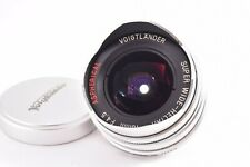 15mm Voigtlander Super Wide Heliar  F4.5 Aspherical Leica L39  #9860703
