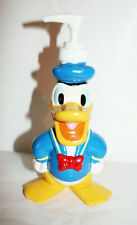 Disney DONALD DUCK Hand Painted Ceramic Bath Kitchen Soap Lotion Pump Dispenser