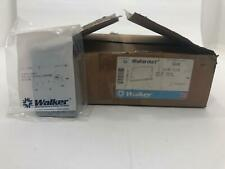 Lot of 50 Walker 500B Blank Face Plate Cover For 500 Series Outlet Fitting