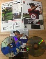 Tiger Woods PGA Tour 07 08 Nintendo Wii 2 Game Bundle