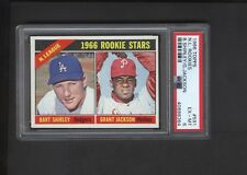 1966 Topps Gum #591 Grant Jackson ROOKIE PSA  EX-MT 6 Short Print High Number