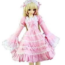 [wamami] Pink Lace Dress/Outfit/Clothes Fits 1/4 MSD AOD DOD DZ BJD Dollfie