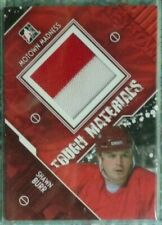 Shawn Burr 2012-13 ITG Motown Madness Tough Materials 2CLR Game Jersey Red Wings
