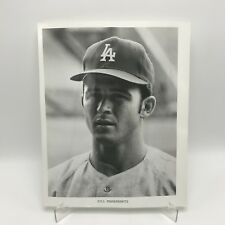 "BILL GRABARKEWITZ - LA Dodgers Baseball - 8"" x 10"" Black & White Photograph"