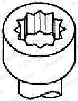 Cylinder Head Bolts fits TOYOTA VISTA V5 1.8 98 to 03 1ZZ-FE Set Kit Payen New