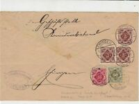 germany 1922 stamps cover ref 21060