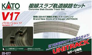 Kato 20-877 V17 Double Slab Track N Scale