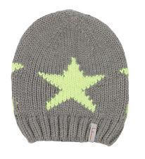 (205) Kinder Mütze FREAKY HEADS Beanie Wintermütze Big Star mit Logo Flag gr.53