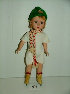 """#1950s ALEXANDER 14"""" BLONDE MARGARET DOLL w OUTFIT LOT#53"""
