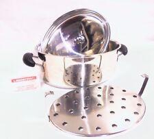 LAGOSTINA-Casseruola Pentola  acciaio inox 18/10 coperchio e griglia-Saucepan