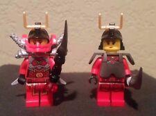 Lego Ninjago lot of 2 Samurai X Secret Warrior,Samurai X Phoenix Flame Warrior