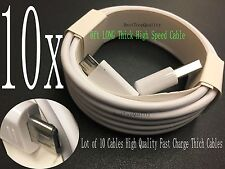 10 X 6Ft Extra Long Micro USB Charger Cable For Samsung Galaxy S4 S6 Note 4 Edge