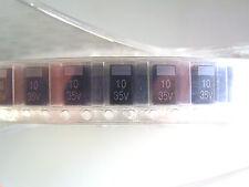 SAMSUNG tcsvs 1 V 106 kdar Condensatore al tantalio 10uf 10% 35v 25 PEZZI ol0193