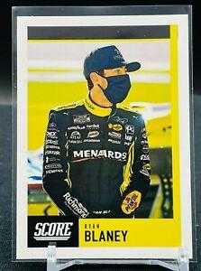 2021 Panini Chronicles Racing NASCAR Ryan Blaney Score