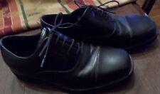 Rockport Men's Size 8.5 Wide Lace Up Black Dress Shoes TAKE A LOOK!
