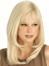 Fashion Light Blonde Front Lace Wig Natural Heat-Resistant Medium Long Hair