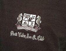 NIKE GOLF DRI-FIT PORTE VEDRA INN & CLUB EST. 1928, FLORIDA POLO RUGBY SHIRT LG
