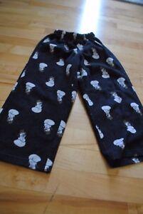 OLD NAVY ~ Boys Snowman Pajama PJ Pants ~ Size XS Small