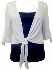 Boleros Shrugs 3/4 Sleeve V Neck None Women's Jumpers & Cardigans