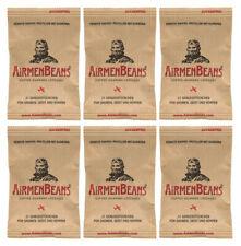 6er Pack Original AirmenBeans, 126 Stk Kaffee Guarana Pastillen