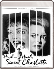 Hush... Hush, Sweet Charlotte Blu-Ray - TWILIGHT TIME Limited Edition BRAND NEW