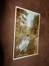 Valentine's postcard - on the canal - Llangollen Denbighshire
