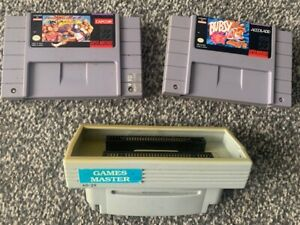 Super Nintendo SNES  Multi-Region Import Adapter Game Converter PAL NTSC & Games