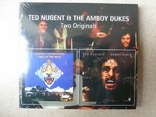 CD.TED NUGENT AND THE AMBOY DUKES.CALLOF THE WILD.TOOTH,FANG AND CLAW.73/74.NEUF