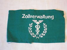 RARA stecca DDR amministrazione doganale Bianco Verde Ricamati